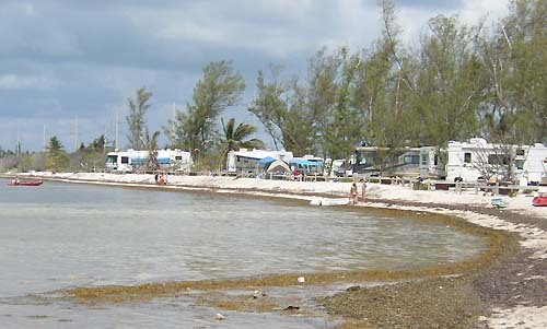 Florida Getaways of the Day - <b>Long Key:</b> Camping on the beach