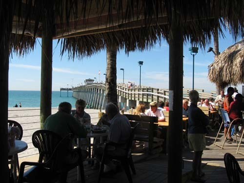 Florida Getaways of the Day - <b>Venice:</b> Sharks lurk near the pier!