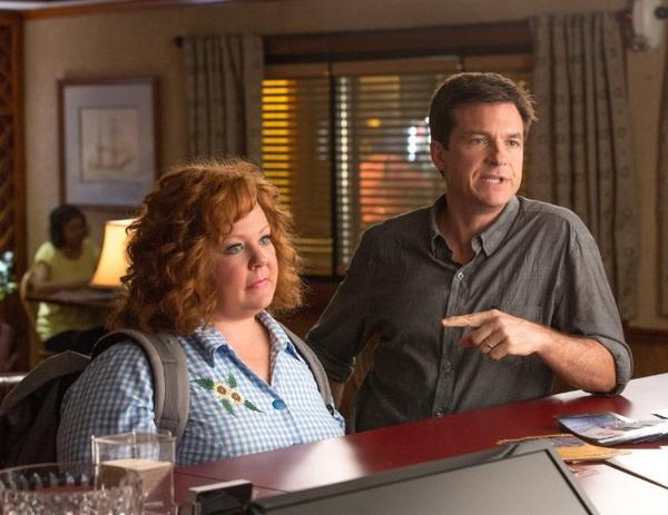 """Identity Thief,"" starring Melissa McCarthy and Jason Bateman, is expected to top the box office this weekend"