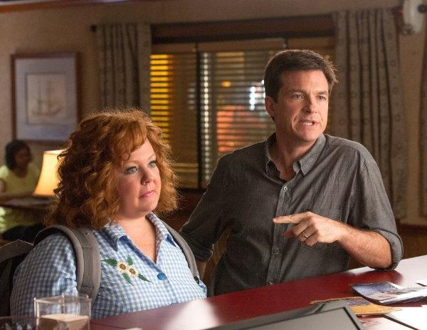 "Melissa McCarthy and Jason Bateman star in ""Identity Thief,"" which is expected to top the box office this weekend."
