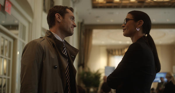 "Jude Law, left, and Catherine Zeta-Jones star in ""Side Effects,"" directed by Steven Soderbergh."