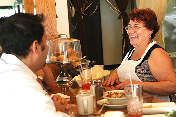 Amalia Zuleta, owner of Amalia's Restaurant in Los Angeles.