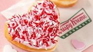 "Nothing says ""I Love You"" like free doughnuts!"
