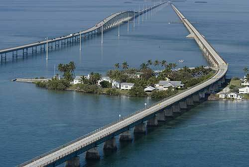 Florida Getaways of the Day - <b>Pigeon Key:</b> Take the old bridge for vistas, visit to past
