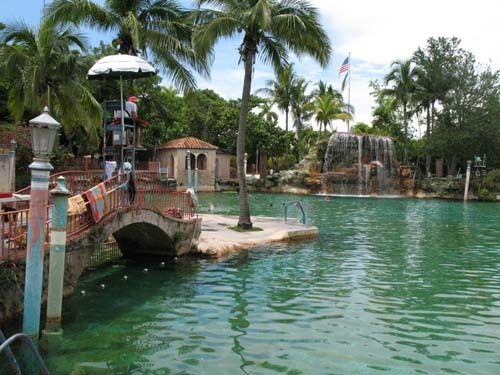 Florida Getaways of the Day - <b>Coral Gables:</b> Venetian Pool is cool. Very cool.