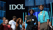 'American Idol' recap, Boys night in Hollywood