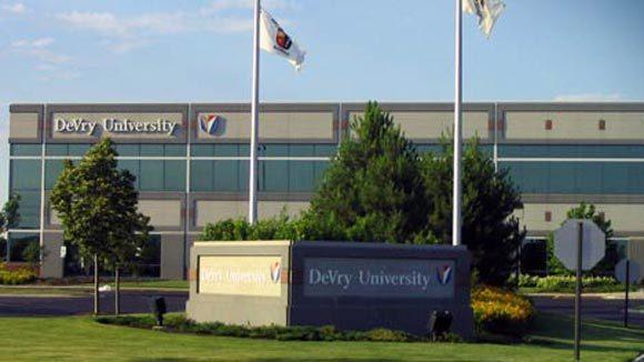 DeVry's campus in Tinley Park.