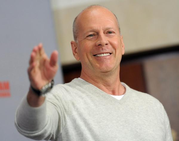 "Actor Bruce Willis, in Germany promoting the premiere of ""A Good Day to Die Hard,"" has donated motorcycles from his private collection to support a charity for wounded combat veterans."
