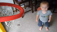Little kid's trick shot video