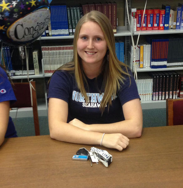 Lake Brantley High School athlete Chelsea Rohal signs to play softball at Northwood University.