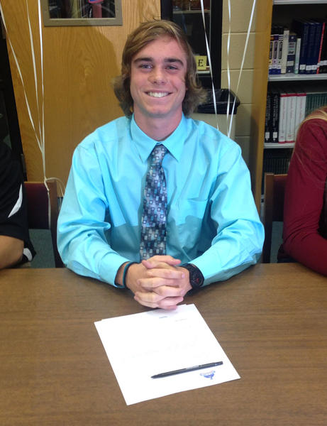 Lake Brantley High School athlete Austin Sopp signs to play lacrosse at Rollins College.