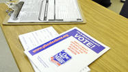 Planning to vote in the local elections March 12? Monday is your last chance to register to vote.