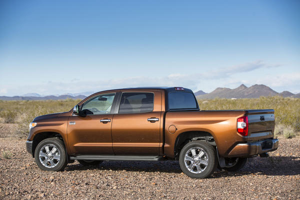 This new 1794 Edition of the Tundra is a new premium line for the full-size model from Toyota.