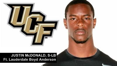 Justin Anderson signs with UCF