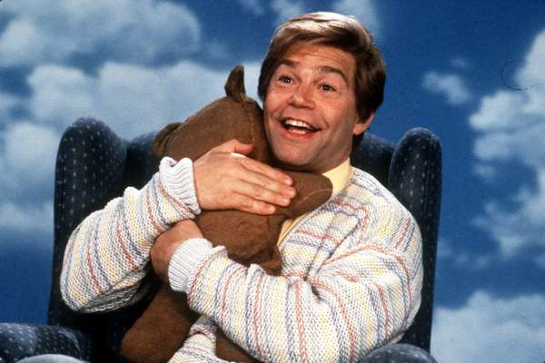 A new study finds that one of the main reasons people turn to Facebook is to get daily affirmations of their self worth. Above, Al Franken as Stuart Smalley.