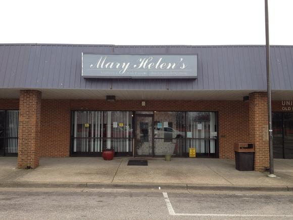 Mary Helen's restaurant now closed