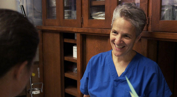 "This image taken from the documentary, ""After Tiller"" shows Dr. Shelley Sella. New Mexico's medical board cleared Sella of negligence in a late-term abortion case."