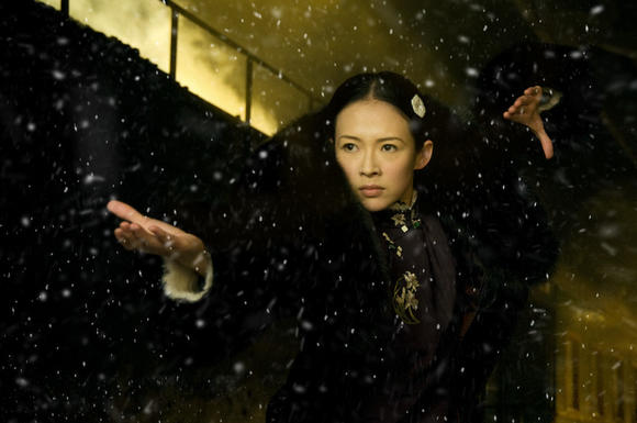 "A scene from Wong Kar-Wai's ""The Grandmaster."""