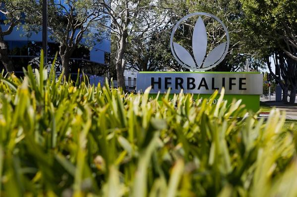 A hedge fund manager has come up with a 40-page list of questions about how the Los Angeles nutrition company Herbalife does business.