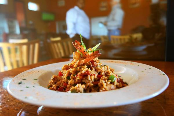 Jambalaya at Tasso Cajun Kitchen in Tavares, on Thursday, January 23, 2013..