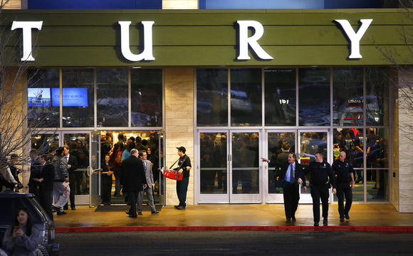 Reopening ceremony and evening of remembrance at Aurora, Colo., theater