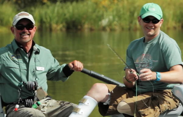 War veterans go fly fishing in documentary for Chicago fly fishing