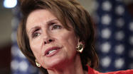 "LANSDOWNE, Va. -- Even as she acknowledged that passing a new assault weapons ban would be a challenge,  House Minority Leader Nancy Pelosi (D-San Francisco) called on Congress to consider the ""boldest possible package"" to reduce gun violence in the ""small window"" that has opened for action."