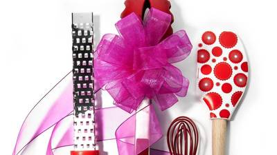 Valentine's gifts in the color of love