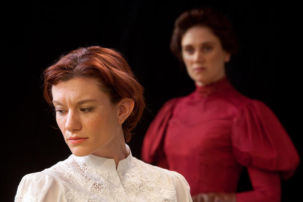 "Sarah Lockard and Jennifer Christa Palmer star in ""Mrs Warren's Profession"" at Mad Cow Theatre."