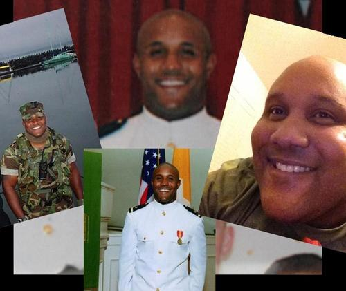 MASSIVE MANHUNT in Los Angeles for Ex-LAPD officer Christopher Dorner/ Was reported that his body was found in a flaming cabin/  Christopher Dorner's body positively ID'd/Died of Self-Inflicted Gunshot to his Head. - Page 2 500x421