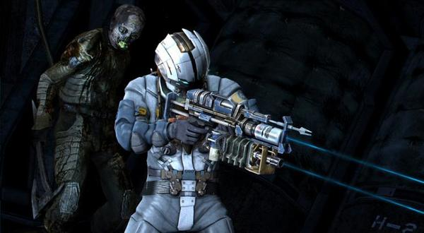 "A screenshot from Electronic Arts' ""Dead Space 3."""