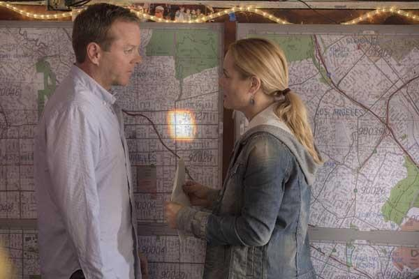 "The search for another child with similar gifts takes Martin (Kiefer Sutherland) to Los Angeles in the season premiere of ""Touch"" at 8 p.m. on Fox. With Maria Bello."