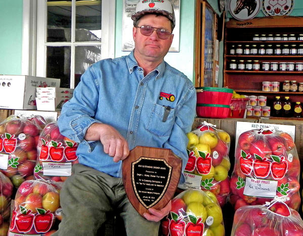 Fruit grower Dwight L. Mickey of Chambersburg, Pa., was named 2012 Grower of the Year by the State Horticultural Association of Pennsylvania.