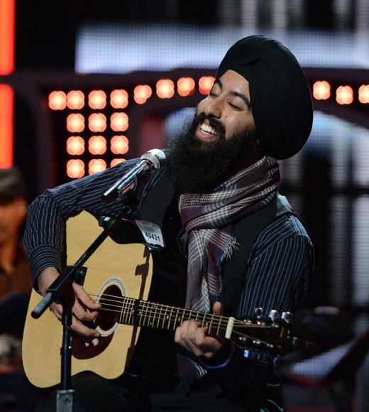 'American Idol' Season 12 best and worst moments: The Turbanator has advanced after performing a delightfully quirky little version of Georgia On My Mind. Love him.