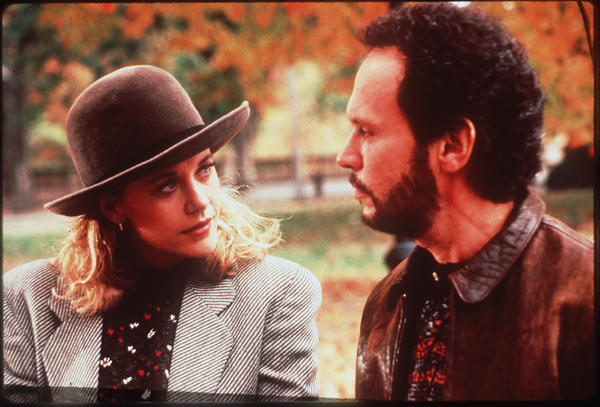 "Harry Burns ( <a class=""taxInlineTagLink"" id=""PECLB001212"" title=""Billy Crystal"" href=""/topic/entertainment/billy-crystal-PECLB001212.topic"">Billy Crystal</a>) forever changed how men and women define their relationships. Sally Albright ( <a class=""taxInlineTagLink"" id=""PECLB003604"" title=""Meg Ryan"" href=""/topic/entertainment/meg-ryan-PECLB003604.topic"">Meg Ryan</a>), meanwhile, forever changed the meaning of high-maintenance -- apple pie a la mode never had it so tough.<br> <br> Swoon-worthy lines:<br> <br> Harry Burns: ""I love that you get cold when it's 71 degrees out. I love that it takes you an hour and a half to order a sandwich. I love that you get a little crinkle above your nose when you're looking at me like I'm nuts. I love that after I spend the day with you, I can still smell your perfume on my clothes. And I love that you are the last person I want to talk to before I go to sleep at night. And it's not because I'm lonely, and it's not because it's <a class=""taxInlineTagLink"" id=""EVFES000168"" title=""New Year's Day"" href=""/topic/arts-culture/holidays/new-years-day-EVFES000168.topic"">New Year's Eve</a>. I came here tonight because when you realize you want to spend the rest of your life with somebody, you want the rest of your life to start as soon as possible."""