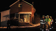 Paint house fire