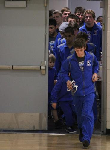 Kapaun Mt. Carmel used bonus points to separate from Wichita North for a 45-25 dual victory.