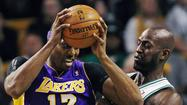 Lakers at Boston Celtics