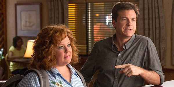 "Melissa McCarthy and Jason Bateman in ""Identity Thief."""
