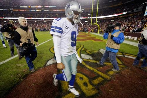 Cowboys fans don't like it when their quarterback fails to lead them to a title.