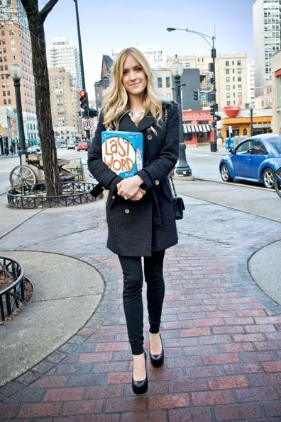 "Kristin Cavallari (""The Hills"") leaves Barnes & Noble in the Gold Coast Feb. 28 with party game Last Word."