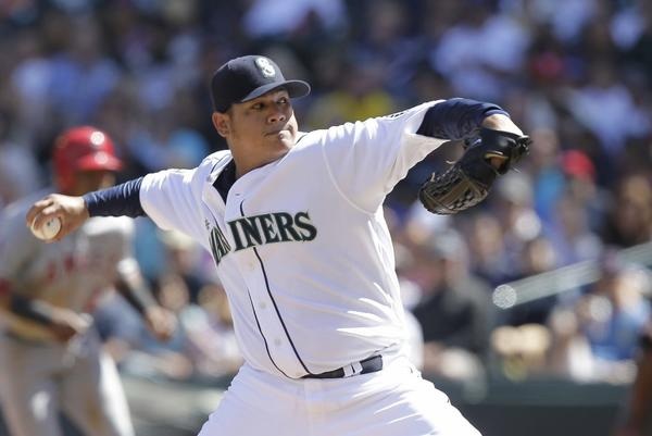 Felix Hernandez became the first Seattle pitcher to throw a perfect game last season.