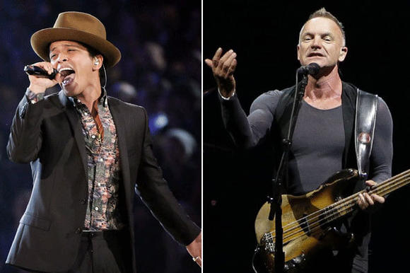 Bruno Mars & Sting