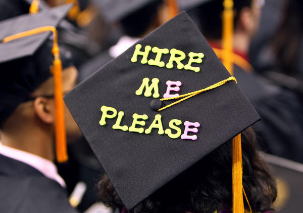 College graduates often have trouble paying off their student loans. Now a small Michigan university says it will help graduates pay off those loans if they can't find a good job.