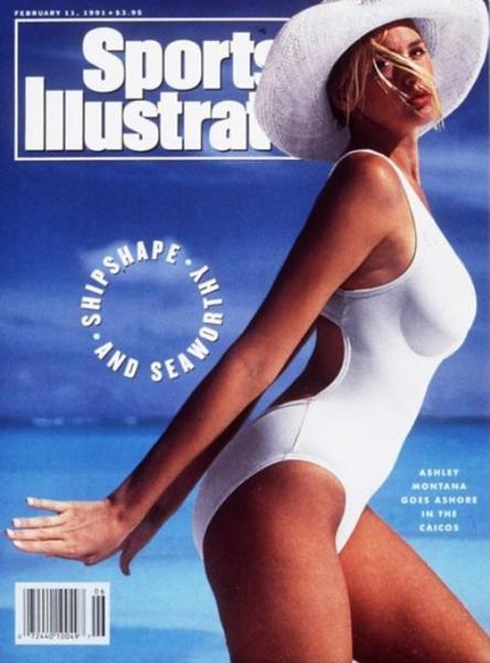 49 years of Sports Illustrated swimsuit cover models: 1991: Ashley Richardson (Montana)