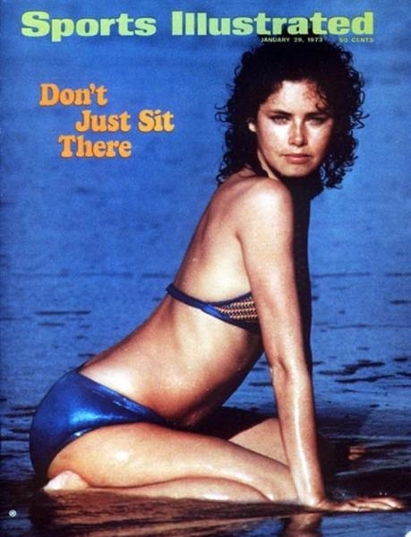 49 years of Sports Illustrated swimsuit cover models: 1973: Dayle Haddon