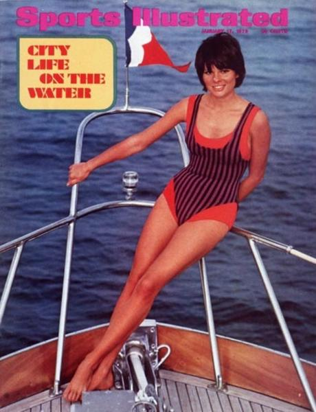 49 years of Sports Illustrated swimsuit cover models: 1972: Sheila Roscoe
