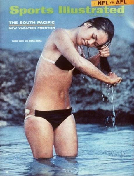 49 years of Sports Illustrated swimsuit cover models: 1968: Turia Mau