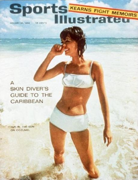 49 years of Sports Illustrated swimsuit cover models: 1964: Babette March