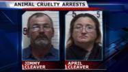 Pratt County couple arrested on animal cruelty charges